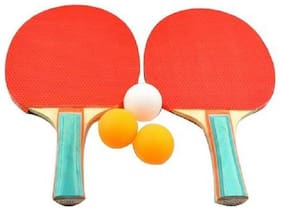 RDS High Performance Table Tennis Racquet  Set With Free Ball