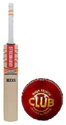 RDS Kaboom Combo English Willow Cricket Bat With Leather Ball