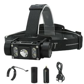 Rechargeable Head light B50 Type-C LED Tactical Headlamp Zoom 21700 Flashlight