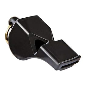 Red Lion Sports and Training Pea-Less Whistles-Use by Professionals Referees in Football,Basketball,Hockey,Boxing Etc-No Parts that Freeze,Jam or Deteriorate,Oscillates Pure Sound of Whistle (Black)