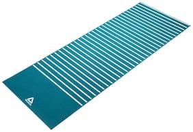 Reebok Green , White Pvc  , Foam Yoga mat - 1 pc