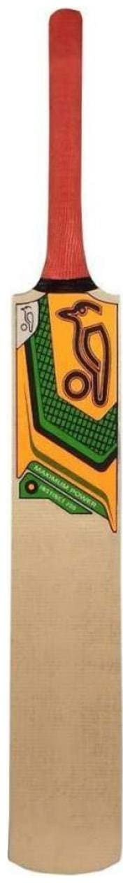 RetailWorld KOOKABURRA Max Power Sticker Popular Willow Cricket Bat (For Tennis Ball) Size-4 (For Age Group 9-11 Yrs)