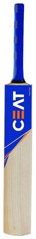 RetailWorld CEAT Sticker Poplar/Popular Willow Cricket Bat (For Tennis Ball) Size-5 (For Age Group 10-12 Yrs)