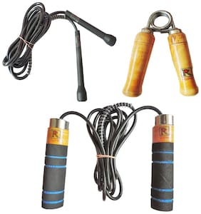 RIPR RX combo (Foam skipping rope;pencil skipping rope and hand gripper)