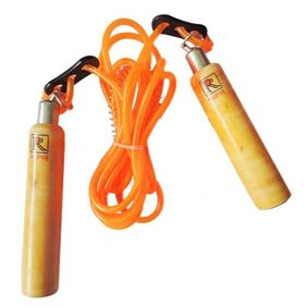 RIPR Weather wood Speed Skipping Rope  (Pack of 1)