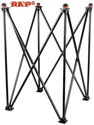RKP Adjustable Carrom Stand (Balck)