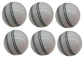 RKP White Leather Ball 2 Pic (Pack-6)