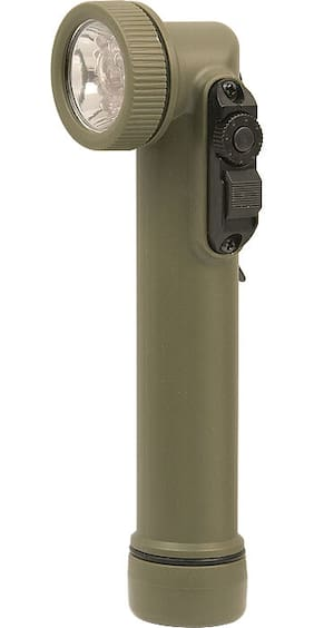 Rothco 527 Olive Drab LED Mini Army Style Flashlight