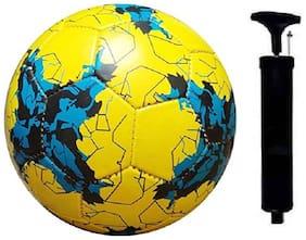 RSE YELLOW KARASAVA FOOTBALL WITH PUMP CPMBO