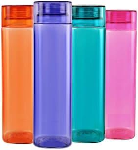 Ruchi Unbreakable Water Bottle, 1 L, Set of 4 pcs.