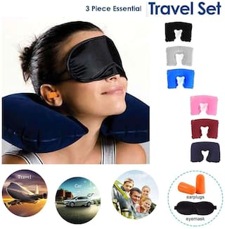 3 in 1 Travelling Pillow kit  for Outdoor/Travel