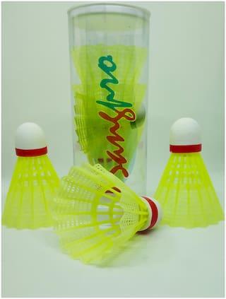 SANGPRO Nylon Shuttlecocks - Set of 3