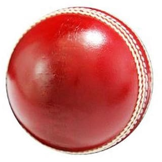 85bc0f7a8eb Buy SANGPRO (Two Pcs) Cricket Leather Ball - Red (pack of 01 ball ...