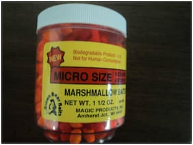 Scented Marshmallow Baits, TWO 1.5 oz Jars in Micro OR Mini size, PICK ONE SIZE