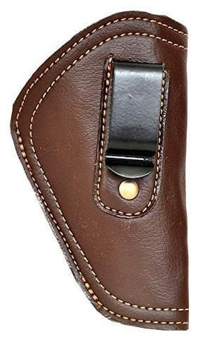 Schieben Leather .32 Bore Size Inner Clip Cover Racquet Carry Case/Cover Free Size (Brown)