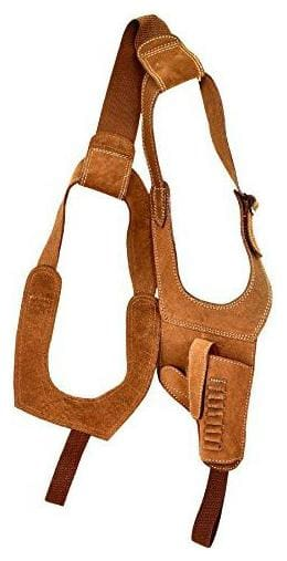 Schieben Swed Leather Golden Calf Brown Free Size Chest Holster Racquet Carry Case/Cover Free Size (Brown)