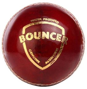 SG Bouncer Cricket Ball ( Pack of 1, Red )