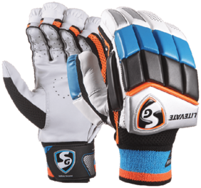 SG Litevate Cricket Batting Glove-Multicolor (Size-L)