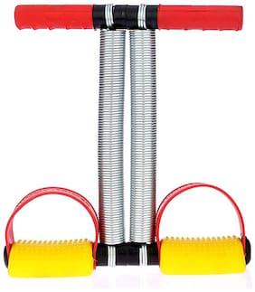 Shopeleven Stainless-Steel Double Spring Multipurpose Tummy Trimmer-Ab Exerciser Tummy Trimmer