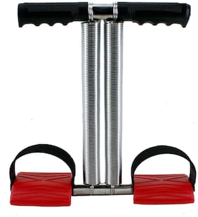Shopeleven Tummy Trimmer With Double Steel Spring Ab Exerciser For Weight Loss For Women & Men