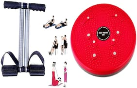 SIDHMART Fitness Abs Exercise Tummy Trimmer with Twister Gym Equipment