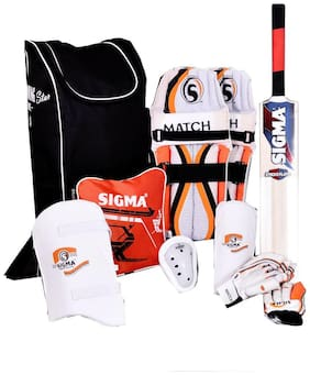 Sigma Young Star Complete Cricket Set (Color May Vary) Size:- Men
