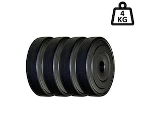 Sixon Professional Exercise Home Gym Dumbbells Set ( 1KG* X 4 = 4 GK Total )