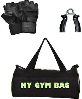 SIXON SPORTS Home Gym Accessories Gym Bag With Gym Gloves