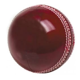 Sixon Sports Club Cricket Leather Ball  (Pack of 1, Red)