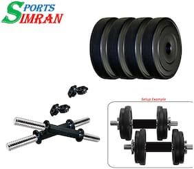 Sixon Sports PVC 4 kg Dumbbell Set