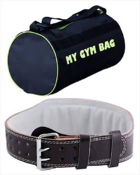 SIXON SPORTS Home Gym Accessories Gym Bag With Gym Belt