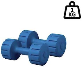 SIXON SPORTS Pair Of 1 kg PVC Dumbbell Set