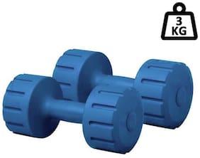 SIXON SPORTS One Pair Of 3KG PVC Dumbbell Set (3KG+3KG=6KG)