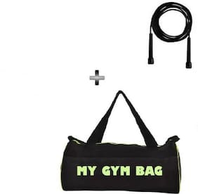 SIXON SPORTS Home Gym Accessories Gym Bag With Skipping Rope