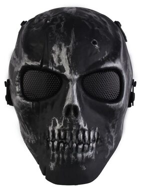 Skull Skeleton Airsoft Paintball War Game Full Face Protection Mask Guard
