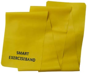 Smart Yellow Exercise Band Resistance Level 1