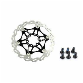 SNAIL MTB Mountain Bike Bicycle Disc Brake Floating 6 Bolts Rotor 160/180/203mm