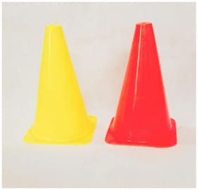 SOCCER CONE 6 inches  ( Pack of 6 Pcs)