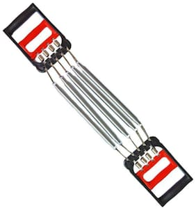 Solutions 24x7 Advanced 5 Steel Spring Heavy Duty Chest Expander Resistance Tube