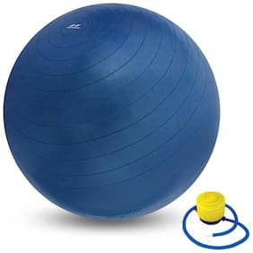 solutions24x7 Gym Ball with Foot Pump Gym Ball  Total Body Exercise Workout Anti Burst (With Pump)