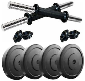 solutions24x7  HOME GYM SET -  8kg adjustable dumbbell set - your home workout set of dumbell