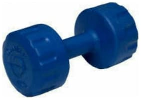 solutions24x7 PVC 2 kg Filled Dumbbells set of 1 PC Fixed Weight Dumbbell  (2 kg)