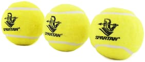 Spartan Cricket Tennis Ball, Pack of 3