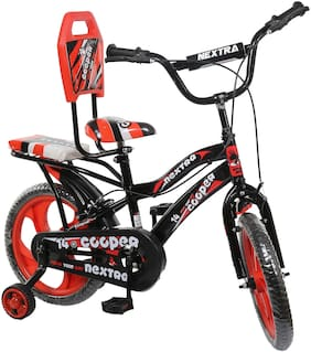 Speed Bird Cooper Kids Cycle 16-T Baby Cycle for Boys & Girls - Age Group 4-8 Years (Cooper Red)
