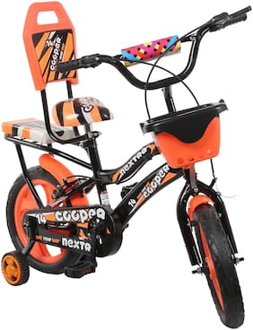 Speed Bird Cooper Kids Cycle 14-T Baby Cycle For Boys & Girls - Age Group 3-6 years (cooper orange)