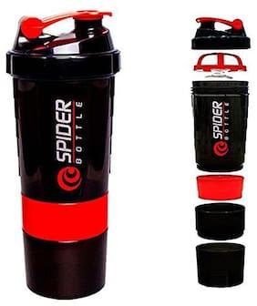Spider Protein Sipper Shaker Bottle 500 ml