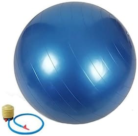 Sports Fitness Non Slip Gym Ball With Foot Pump Diameter - 85cm