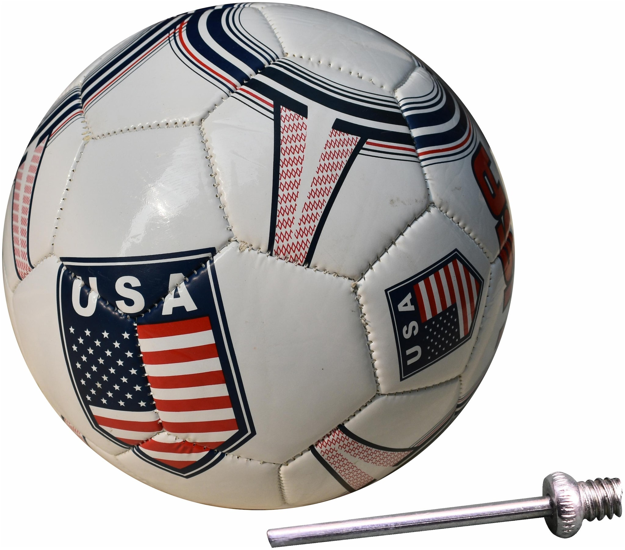 Sports USA Club Offical Multicolor Football   Size: 5 Football   Pack of 1, Multicolor
