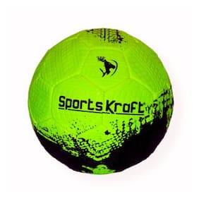 SPORTSKRAFT STREET SOCCER FOOTBALL GREEN
