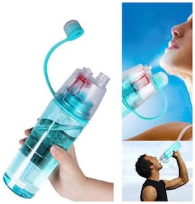 Spray Water Bottle, 600 ml Bottle  (Pack of 1, Assorted Color)